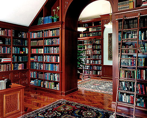 Pictures Of Home Libraries Extraordinary Of Beautiful Home Library Photos