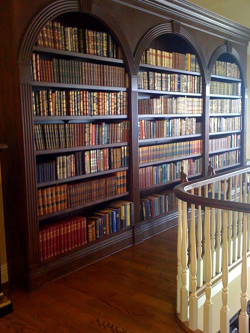 Library Bookshelves: Bookcase Plans Cnc PDF Woodworking