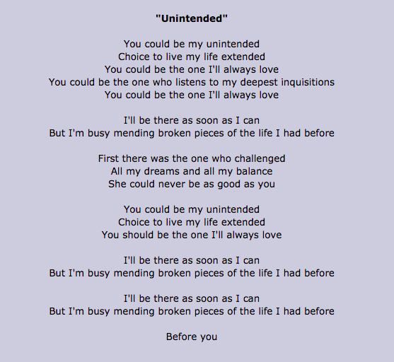 Unintended by Muse : An Interpretation – My Life Poetry That May Not