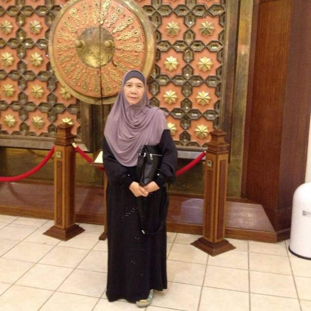 My Mother During Hajj