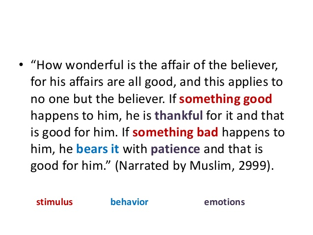 affairs of believer