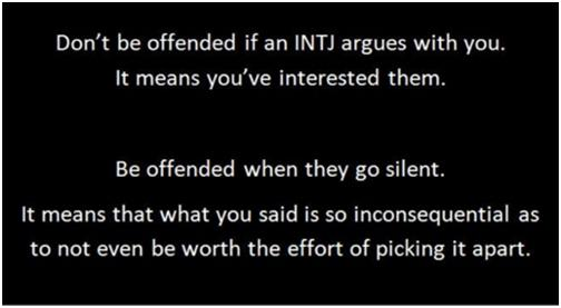 Glad INTJ argues
