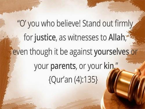 justice Quran